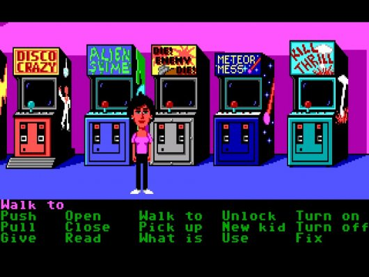 Screenshot for Maniac Mansion 4