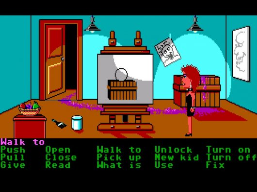 Screenshot for Maniac Mansion 1
