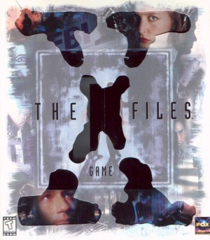 The X-Files Game Box Cover