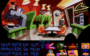'Day of the Tentacle - Screenshot #8