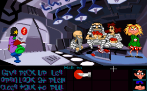 'Day of the Tentacle - Screenshot #6