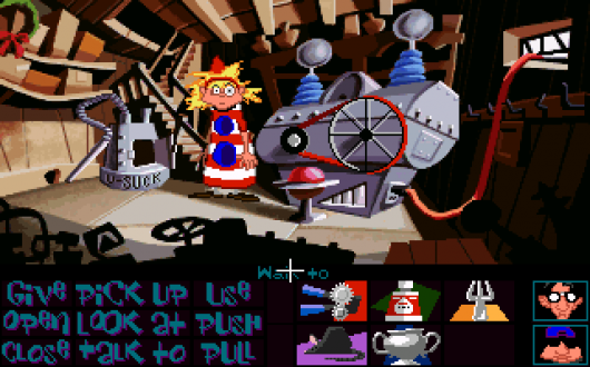 Screenshot for Day of the Tentacle 3
