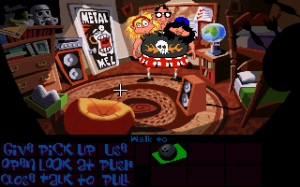 'Day of the Tentacle - Screenshot #2