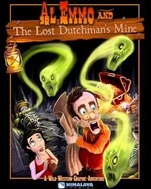Al Emmo and the Lost Dutchman's Mine - Cover art
