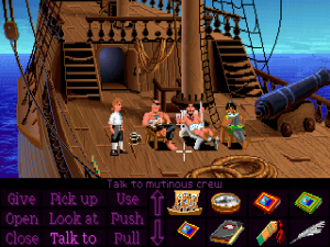 'The Secret of Monkey Island - Screenshot #8