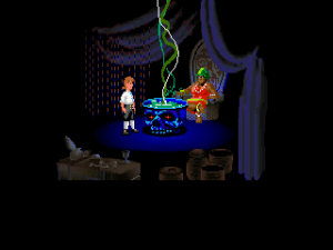 'The Secret of Monkey Island - Screenshot #1