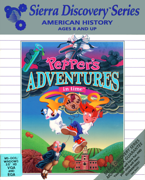 Pepper's Adventures in Time Box Cover