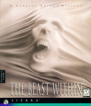 Gabriel Knight: The Beast Within - Cover art