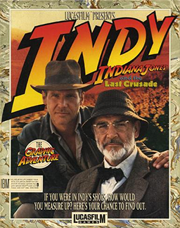 Indiana Jones and the Last Crusade: The Graphic Adventure Box Cover