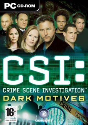 CSI: Dark Motives Box Cover