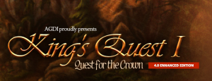King's Quest I: Quest for the Crown (AGD remake) Box Cover