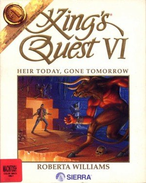 King's Quest VI: Heir Today, Gone Tomorrow - Cover art