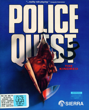 Police Quest 3: The Kindred - Cover art