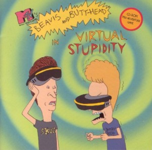 Beavis and Butt-head in Virtual Stupidity Box Cover