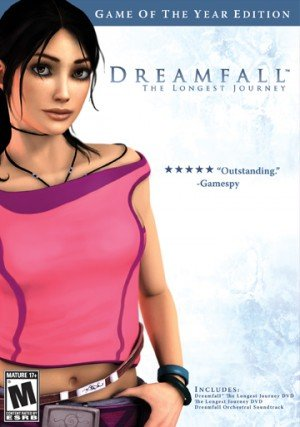 Dreamfall: The Longest Journey - Cover art