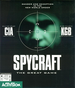 Spycraft: The Great Game Box Cover