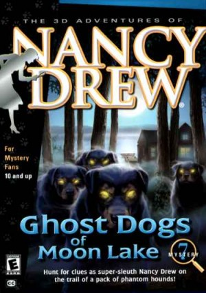 Nancy Drew: Ghost Dogs of Moon Lake Box Cover