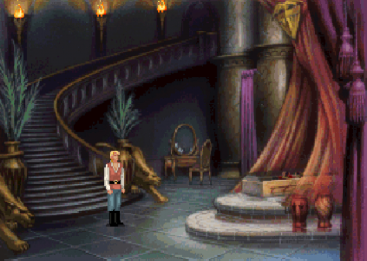 Screenshot for Quest for Glory: Shadows of Darkness 7