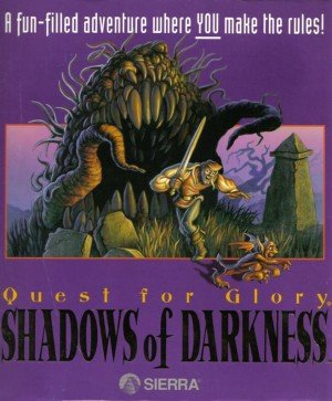Quest for Glory: Shadows of Darkness Box Cover