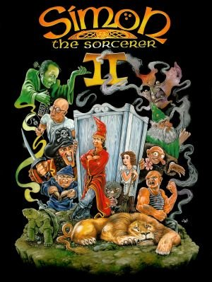 Simon the Sorcerer II: The Lion, the Wizard and the Wardrobe Box Cover