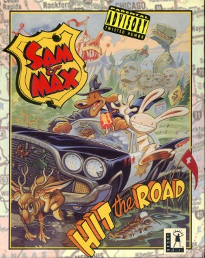 Sam & Max Hit the Road Box Cover