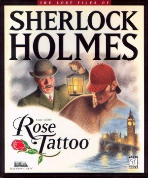 The Lost Files of Sherlock Holmes: Case of the Rose Tattoo Box Cover