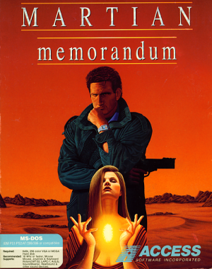 Tex Murphy: Martian Memorandum Box Cover