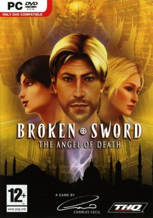 Broken Sword: The Angel of Death Box Cover