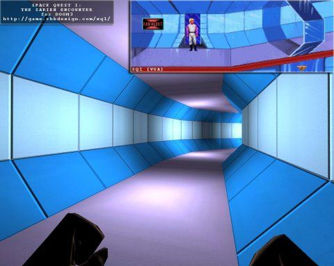 Space Quest I: The Sarien Encounter Doom 3 mod Screenshot