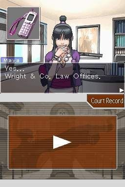 Phoenix Wright: Ace Attorney Screenshot #1