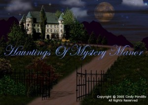 Hauntings of Mystery Manor Box Cover