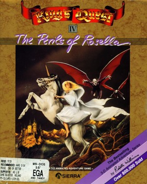 King's Quest IV: The Perils of Rosella Box Cover