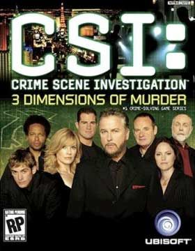 CSI: 3 Dimensions of Murder Box Cover