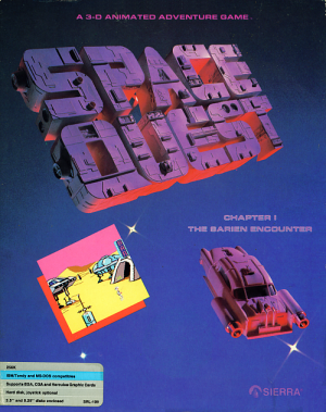 Space Quest I: The Sarien Encounter Box Cover