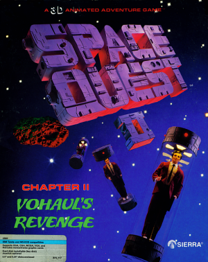 Space Quest II: Chapter II - Vohaul's Revenge Box Cover