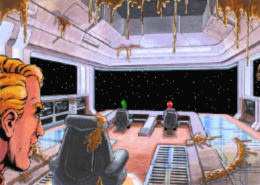 Screenshot for Space Quest V: Roger Wilco - The Next Mutation #1