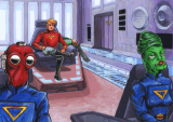 'Space Quest V: Roger Wilco - The Next Mutation - Screenshot #2