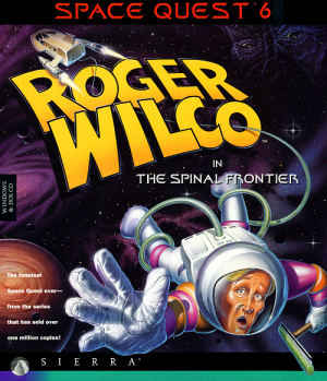 Space Quest 6: Roger Wilco in the Spinal Frontier Box Cover
