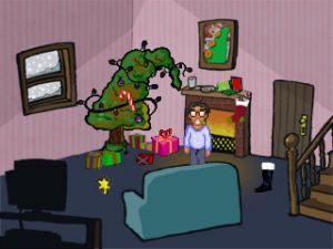 'Christmas Quest: The Best Adventure Game Ever! - Screenshot #1