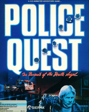 Police Quest: In Pursuit of the Death Angel Box Cover
