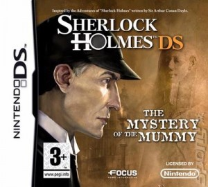 Sherlock Holmes: The Mystery of the Mummy (DS) Box Cover