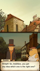 'Professor Layton and the Curious Village - Screenshot #12