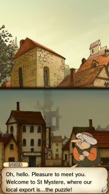'Professor Layton and the Curious Village - Screenshot #7