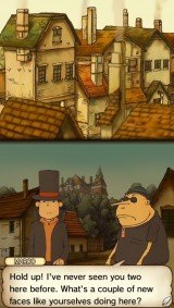 'Professor Layton and the Curious Village - Screenshot #1