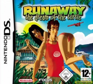 Runaway 2: The Dream of the Turtle (DS) Box Cover