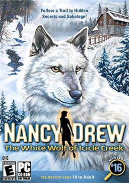 Nancy Drew: The White Wolf of Icicle Creek Box Cover