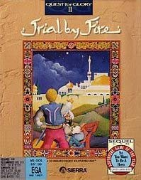 Quest for Glory II: Trial by Fire Box Cover