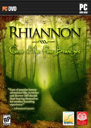 Rhiannon: Curse of the Four Branches - Cover art