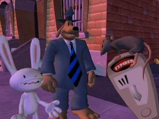 Screenshot for Sam & Max: Episode 6 - Bright Side of the Moon #0