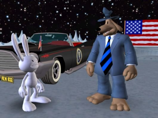 Screenshot for Sam & Max: Episode 6 - Bright Side of the Moon #2